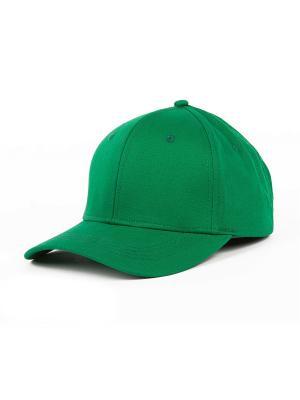 Бейсболка TRUESPIN Basic Baseball True Spin. Цвет: зеленый