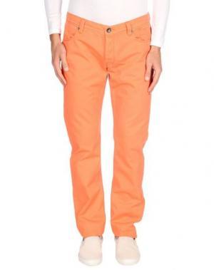 Джинсовые брюки JECKERSON. Цвет: оранжевый