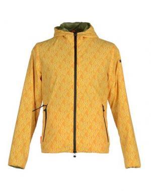 Пуховик RRD. Цвет: желтый