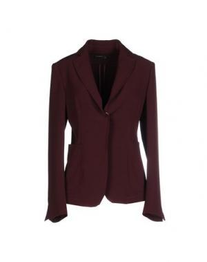 Пиджак SIMONA MARTINI. Цвет: баклажанный