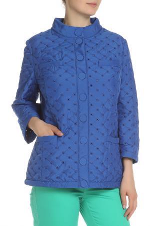 Куртка 22 MAGGIO. Цвет: синий