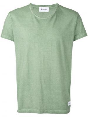 Базовая футболка Dondup. Цвет: зелёный