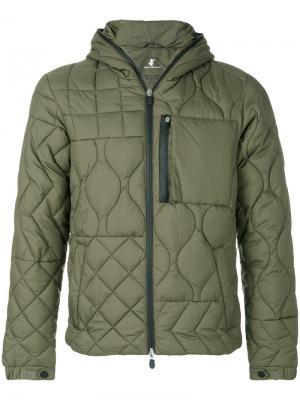 Стеганая куртка Christopher Raeburn. Цвет: зелёный