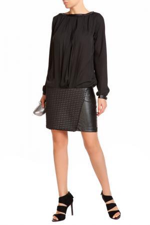 Платье LEIDIRO. Цвет: черный