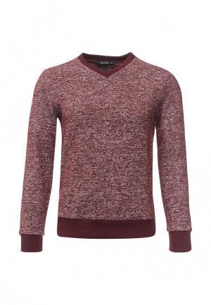 Пуловер Tom Farr. Цвет: бордовый