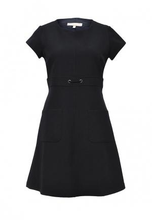 Платье NewLily. Цвет: синий