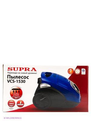 Пылесос Supra VCS-1530 terra. Цвет: красный