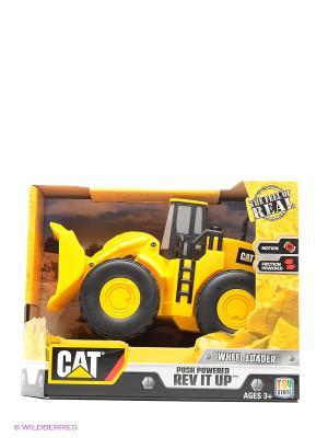 Строительная техника Toystate Cat экскаватор. Цвет: желтый, черный