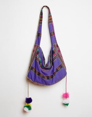 Pitusa Пляжная сумка Inca. Цвет: лаванда