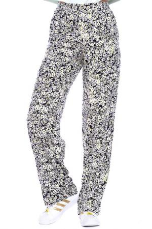 TROUSERS Emma Monti. Цвет: floral print