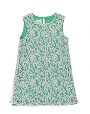 Платье ILLUDIA. Цвет: зеленый