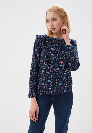 Блуза Tom Tailor Denim. Цвет: синий