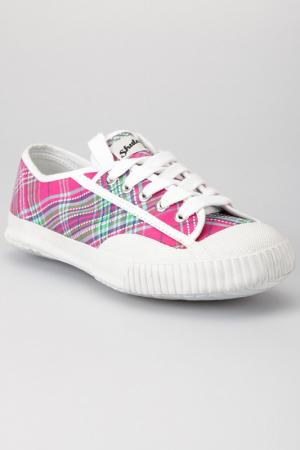 Кеды Shulong. Цвет: pink and white