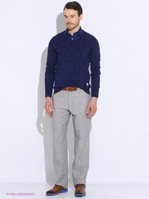 Пуловер Men of all nations. Цвет: синий