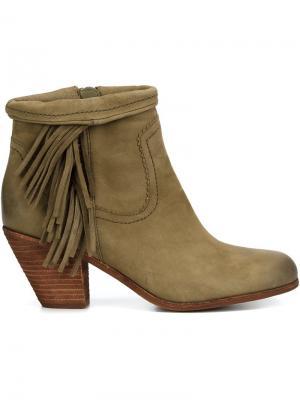 Ботинки Louief Sam Edelman. Цвет: телесный