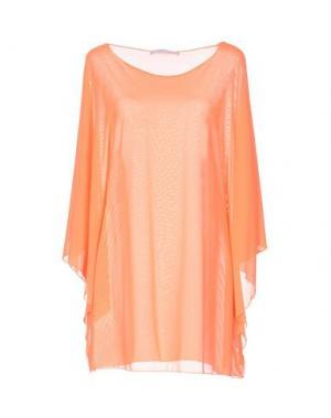 Блузка FISICO. Цвет: оранжевый