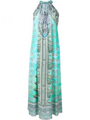 Платье Traje de Luce Camilla. Цвет: синий