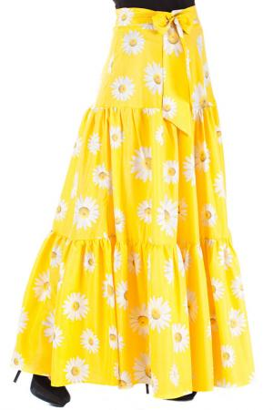Юбка Mannon. Цвет: желтый