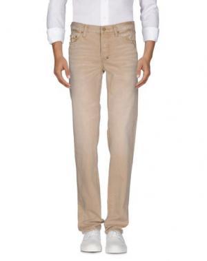 Джинсовые брюки PRPS. Цвет: песочный