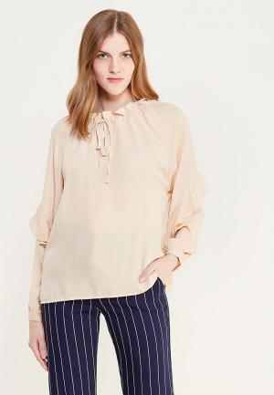 Блуза Sweewe. Цвет: бежевый
