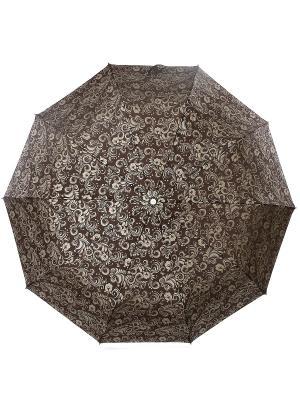 Зонт Zest. Цвет: темно-коричневый, бежевый