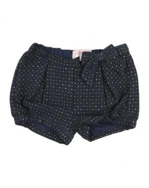 Повседневные шорты LILI GAUFRETTE. Цвет: темно-синий