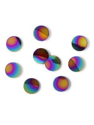 Декор Confetti dots Umbra. Цвет: синий, желтый, фиолетовый