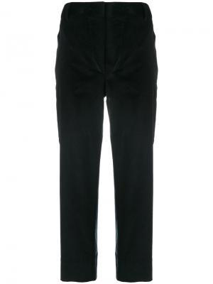 Вельветовые брюки Cédric Charlier. Цвет: чёрный