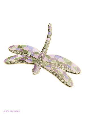Заколка Clara Bijoux. Цвет: зеленый, сиреневый, фиолетовый, розовый