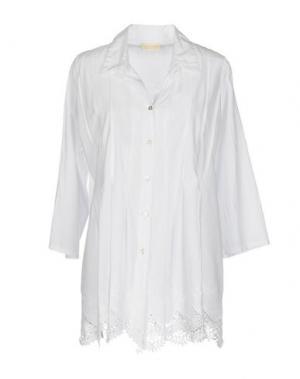 Pубашка CLUB VOLTAIRE. Цвет: белый