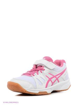 Спортивная обувь PRE-UPCOURT PS ASICS. Цвет: белый, розовый
