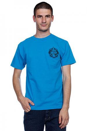 Футболка  Safe Harbor Turquoise Nor Cal. Цвет: голубой
