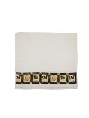 Четыре банных полотенца 127х69 см Blonder Home. Цвет: черный
