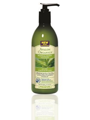 Лосьон для рук и тела с соком алое вера, без запаха, 360 мл Avalon Organics. Цвет: белый