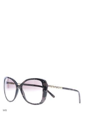 Очки солнцезащитные BURBERRY. Цвет: черный