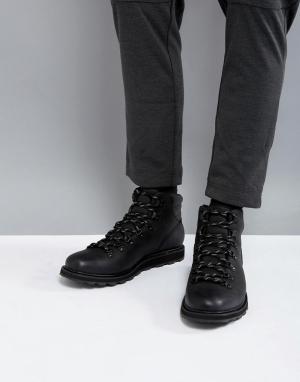 Sorel Черные водонепроницаемые походные ботинки Madson. Цвет: черный