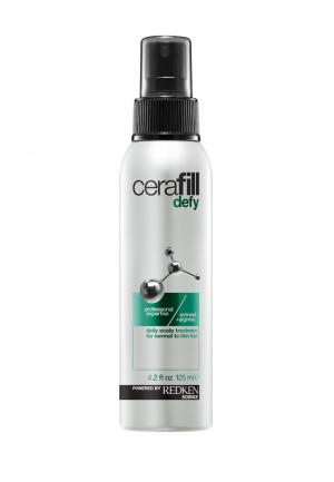 Спрей-уход Cerafill Defy Scalp Treatment Redken. Цвет: разноцветный