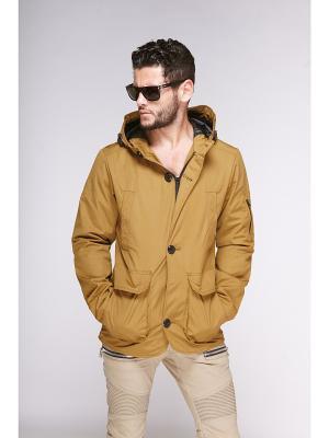 Куртки Nikolom. Цвет: горчичный