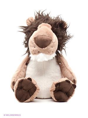 Лев Лохматый PLUSH APPLE. Цвет: темно-коричневый, светло-коричневый, белый