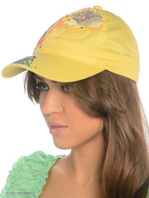 Бейсболка Maxval. Цвет: желтый