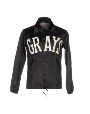 Куртка EBBETS FIELD FLANNELS. Цвет: черный