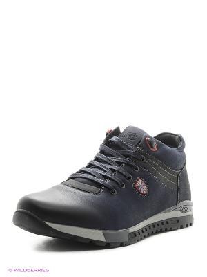 Ботинки KEDDO. Цвет: синий, серый