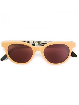 Солнцезащитные очки Riviera Modena 1973 Retrosuperfuture. Цвет: телесный