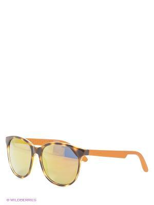 Солнцезащитные очки CARRERA. Цвет: рыжий, оранжевый
