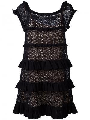 Платье Genziana Antonino Valenti. Цвет: чёрный
