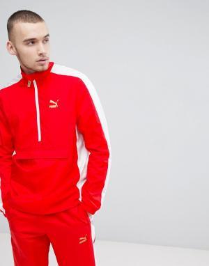 Puma Красная спортивная куртка T7 BBoy 57497942. Цвет: красный