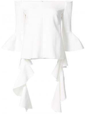 Off shoulder blouse Ellery. Цвет: белый