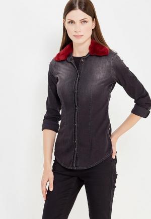 Рубашка джинсовая Met. Цвет: серый
