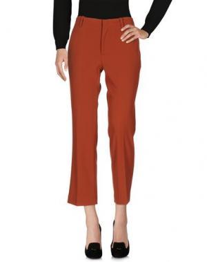 Повседневные брюки F.IT. Цвет: кирпично-красный