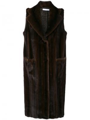 Пальто Bastille Inès & Maréchal. Цвет: коричневый